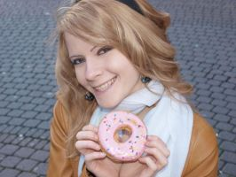 Me and donut smile together XD by UshiromiyaJessica