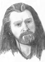 Thorin Oakenshield by apdrea