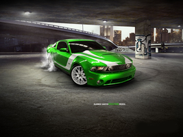 Ford Mustang Digital Mods 2 by junaid-saeed