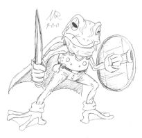Frog of Chrono Trigger by Marioshi64