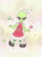 Christmas Alien by Miifferson2