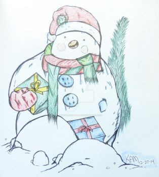 The Snowman by wafflesith6160