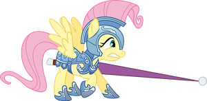 Fluttershy - Some Ponies Don't Like Jousting by MysteriousKaos