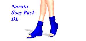 MMD Naruto shoes pack DL by 2234083174