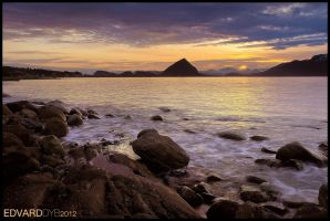 Sunrise over Aalesund by dr-phoenix