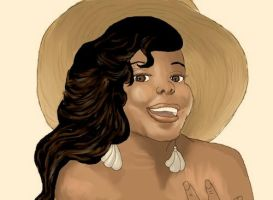 Amber Riley by fayedove