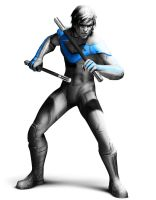 Nightwing is coming to arkham by trilljacker6534