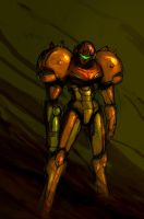 Samus Sketch by XCBDH