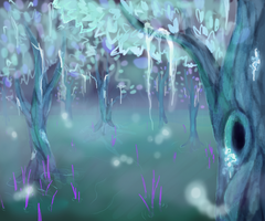 Glowing Grove by SubzeroChimera