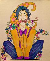 Warfstache sketch by OfasJakunin