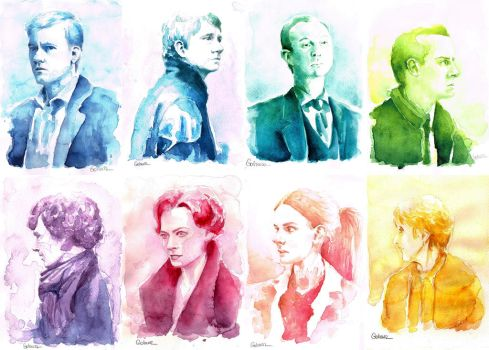 A Study in Watercolor - COMPLETE by Gohush
