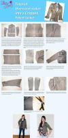 Upcycle Tutorial- Cropping and Tailoring a Jacket by Lolanova