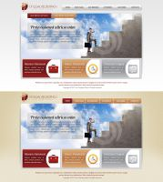 legal Business web templates by mughikrish1986