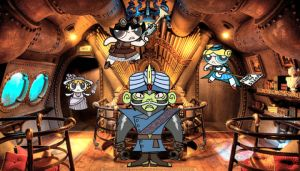 Cap'n Nemo-Jo vs The Steampower Puff Adventuresses by dEan-no36