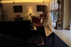 My playing Chopin by AnastasiaSia
