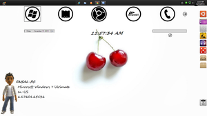 simple pleasent desktop by Faisalharoon