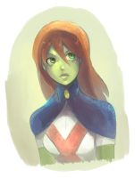 Miss Martian - Young Justice by Clockwork7