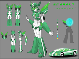 Emerald Reference sheet by DJaimon