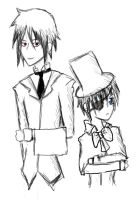 Ciel et Sebastian by 1and-Only-Princess