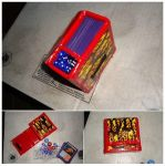 Red Flames Deckbox by somechick73