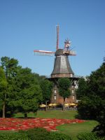 Bremen Windmill by Squiffishy