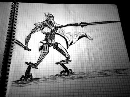 General Grievous Drawing by Einstein646