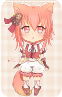 [CLOSED] POINT Adoptable AUCTION - Pastel Neko by Lou-Chan-Nyan