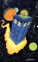 La Tardis by DrCopon