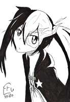Black Rock Shooter by EruShido274