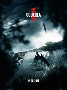 Godzilla Movie Poster Contest (FR) by bpenaud