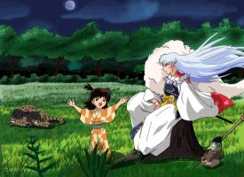 Sesshomaru group. by vader7476