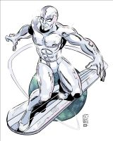 Silver Surfer by AndrewJHarmon