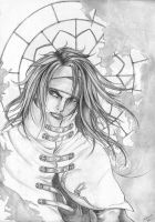 Vincent Valentine - sketch by ClimaxTogether