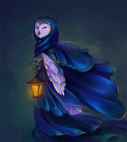 Owl Mage by Yoolee
