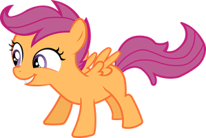 Scootaloo - excited by BobtheLurker