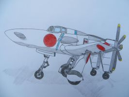 J7W Shinden by KevlarKatana