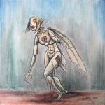Zombie Robot Fairy 01 color by DarkMeW