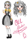 Ever After High OC - Odila Atratus by Fireflowermaiden