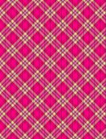 Pink Plaid Star Paper by jakobie-coyote