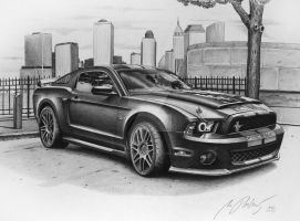 Mustang Shelby Cobra GT 500 by Mipo-Design