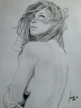 Pencil on Paper by damodred83