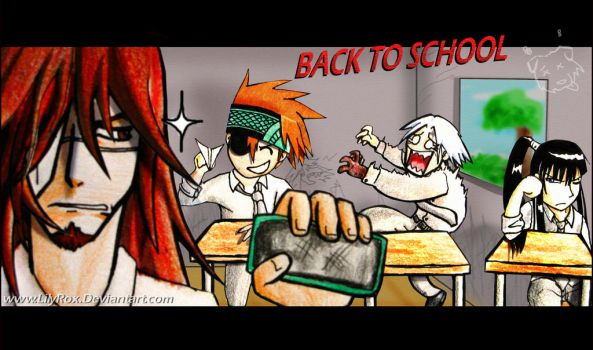 BACK TO SCHOOL by LilyRox