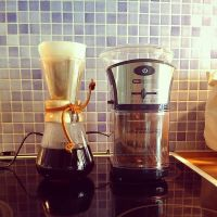 Chemex and Grinder by attomanen