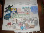 Broadway bat mitzvah gift by Jazzymbf