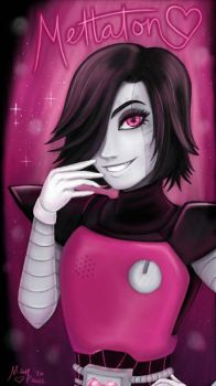 The Fabulously Gorgeous Mettaton~ by DarkPhazonElite