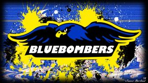IDCI Blue Bombers Wallpaper by dadio46