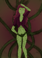Color Palette Challenge - Poison Ivy by Nurbzwax