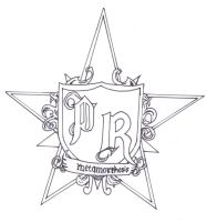PAPA ROACH STARLOGO UNCOLORED by JadeTheAngle777