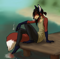Smoke on the Pier by ThereIsNoCure4Me