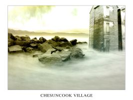 Chesuncook Village by Ashworks